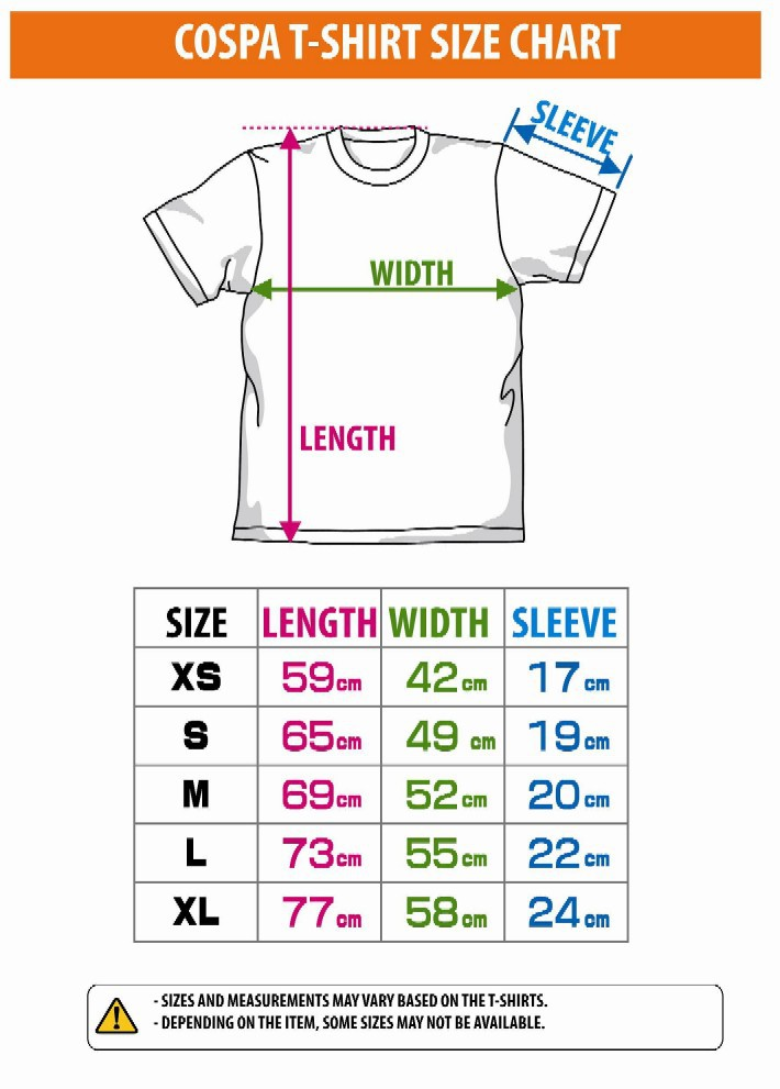 Sizing guide teeturtle.
