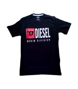 Diesel Denim Division Black t-shirt