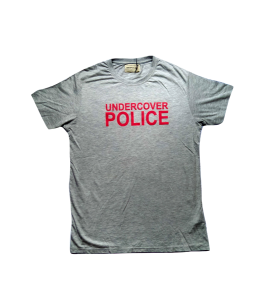 Police undercover t-shirt